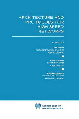 Architecture and Protocols for High-Speed Networks (Paperback)