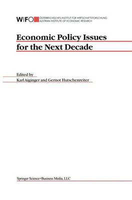 Economic Policy Issues for the Next Decade (Paperback)