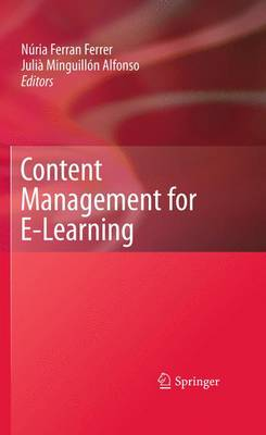 Content Management for E-Learning (Hardback)