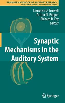 Synaptic Mechanisms in the Auditory System - Springer Handbook of Auditory Research 41 (Hardback)