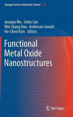 Functional Metal Oxide Nanostructures - Springer Series in Materials Science 149 (Hardback)