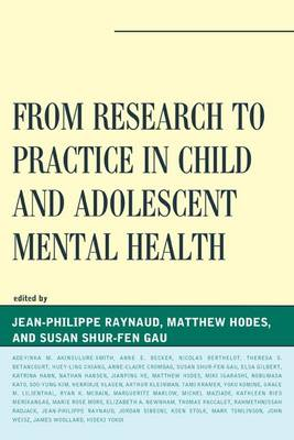 From Research to Practice in Child and Adolescent Mental Health - IACAPAP (Paperback)