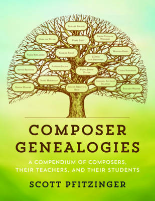Composer Genealogies: A Compendium of Composers, Their Teachers, and Their Students (Hardback)