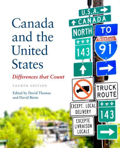 Canada and the United States: Differences that Count (Paperback)