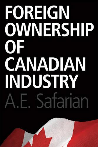 Foreign Ownership of Canadian Industry (Paperback)