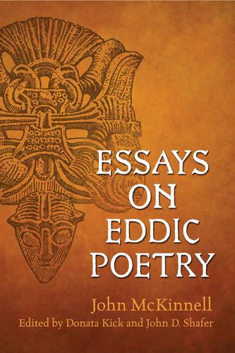 Essays on Eddic Poetry - Toronto Old Norse-Icelandic Series (TONIS) (Paperback)