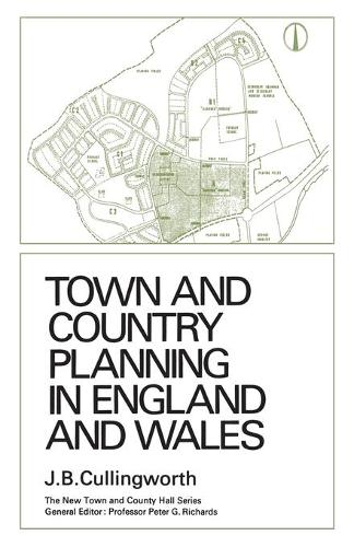 Town and Country Planning in England and Wales: (third Edition, Revised) - Heritage (Paperback)