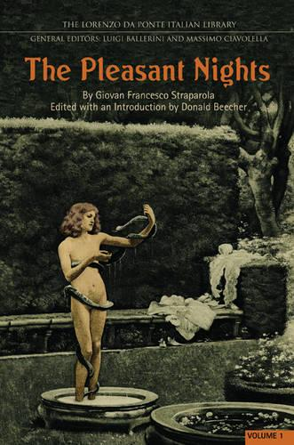 The Pleasant Nights - Volume 1 - Lorenzo Da Ponte Italian Library (Hardback)