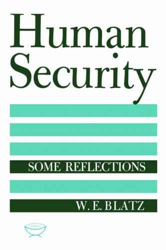 Human Security: Some Reflections - Heritage (Paperback)