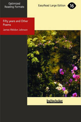 Fifty Years and Other Poems (Paperback)