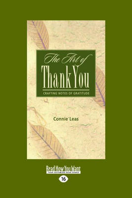 The Art of Thank-You: Crafting Notes of Gratitude (Paperback)