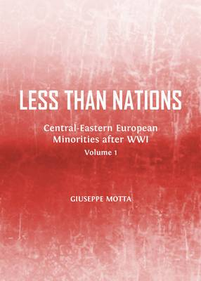Less than Nations: Central-Eastern European Minorities after WWI, Volumes 1 and 2 (Hardback)