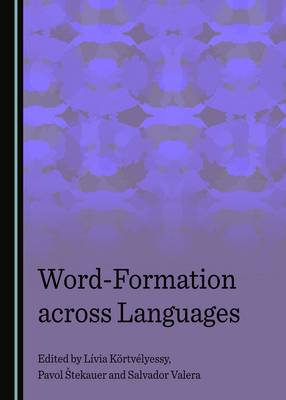 Word-Formation across Languages (Hardback)