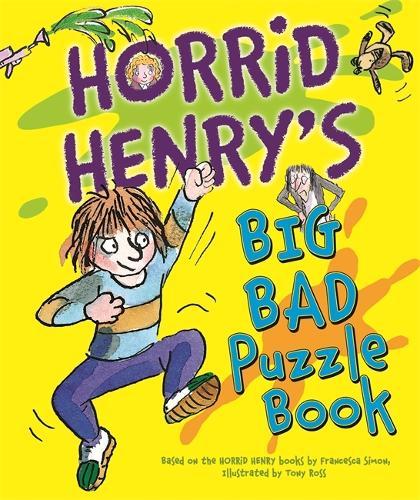 Horrid Henry's Big Bad Puzzle Book - Horrid Henry (Paperback)