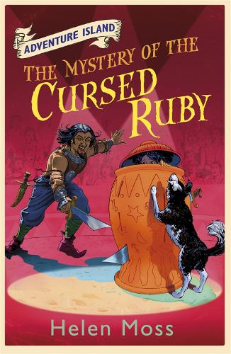 Adventure Island: The Mystery of the Cursed Ruby: Book 5 - Adventure Island (Paperback)