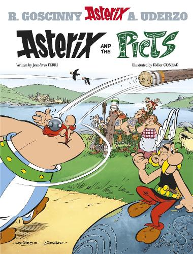 Asterix: Asterix and the Picts: Album 35 - Asterix (Hardback)