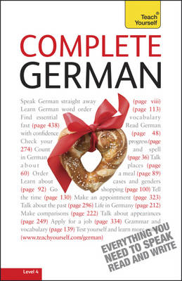 Complete German (Learn German with Teach Yourself) - Teach Yourself (Paperback)