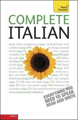 Complete Italian (Learn Italian with Teach Yourself) (Paperback)