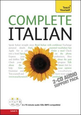 Complete Italian (Learn Italian with Teach Yourself): Audio Support - Teach Yourself (CD-Audio)