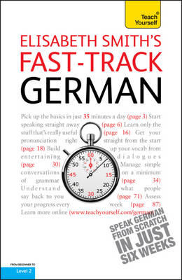 Fast-Track German Book/CD Pack: Teach Yourself (Paperback)