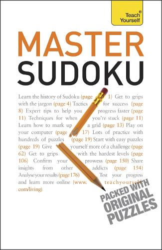 Master Sudoku: Teach Yourself - TY Sports and Games (Paperback)