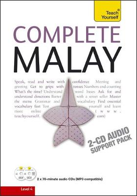 Complete Malay Beginner to Intermediate Book and Audio Course: Learn to read, write, speak and understand a new language with Teach Yourself (CD-Audio)