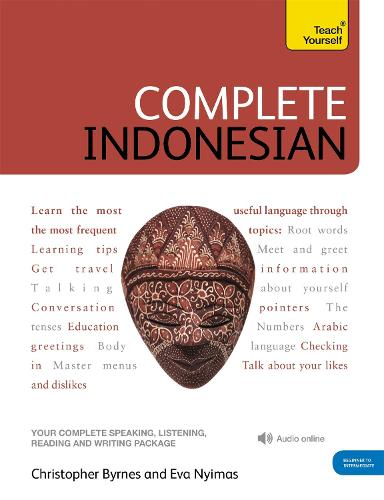 Complete Indonesian Beginner to Intermediate Course: (Book and audio support)