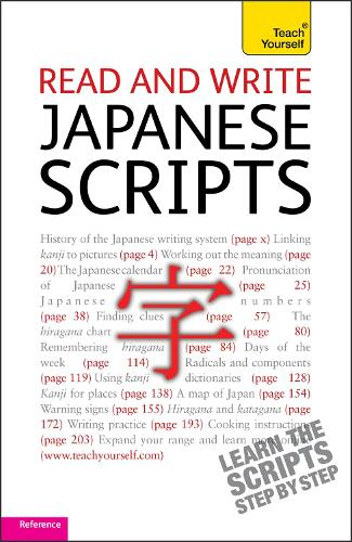 Read and write Japanese scripts: Teach yourself (Paperback)