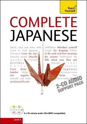 Complete Japanese Beginner to Intermediate Course: Learn to read, write, speak and understand a new language with Teach Yourself (CD-Audio)