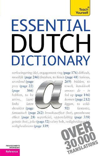 Essential Dutch Dictionary: Teach Yourself (Paperback)