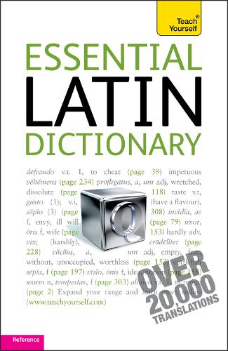 Essential Latin Dictionary: Teach Yourself (Paperback)
