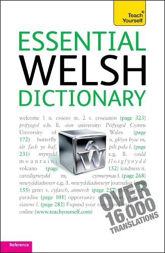 Essential Welsh Dictionary: Teach Yourself (Paperback)