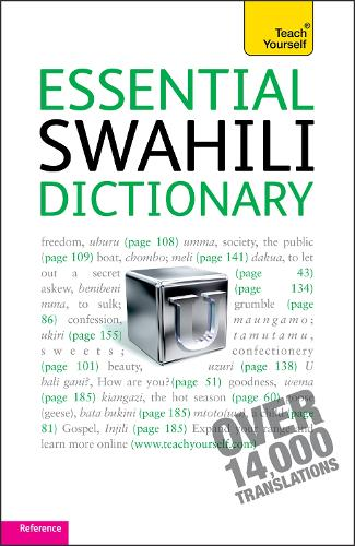 Essential Swahili Dictionary: Teach Yourself (Paperback)