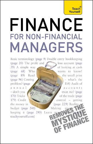 Finance for Non-Financial Managers: A comprehensive manager's guide to business accountancy - TY Business Skills (Paperback)