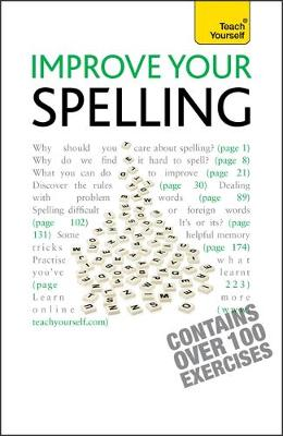 Improve Your Spelling: Teach Yourself (Paperback)