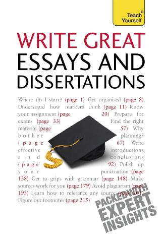 Write Winning Essays and Dissertations: Teach Yourself - Teach Yourself - General (Paperback)
