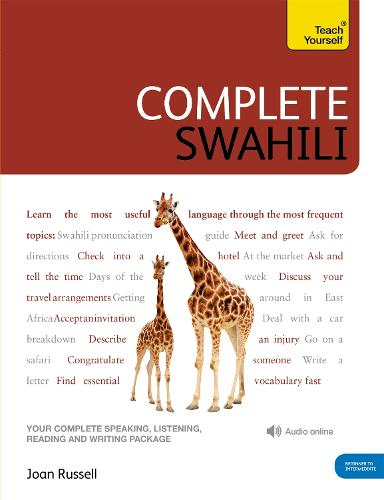 Complete Swahili Beginner to Intermediate Course: (Book and audio support)