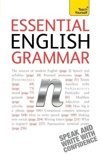 Essential English Grammar: An in-depth guide to modern English grammar (Paperback)
