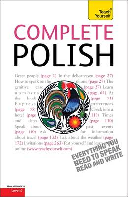 Complete Polish Beginner to Intermediate Course: Learn to Read, Write, Speak and Understand a New Language with Teach Yourself (Paperback)