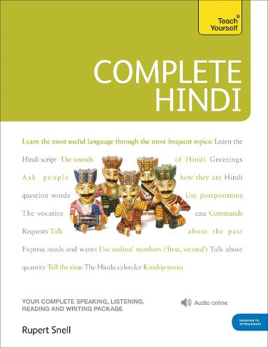 Complete Hindi Beginner to Intermediate Course: (Book and audio support)