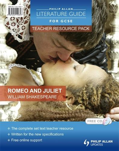 Philip Allan Literature Guides (for GCSE) Teacher Resource Pack: Romeo and Juliet (Spiral bound)