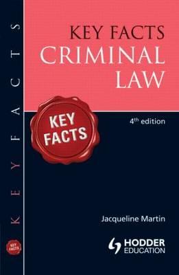 Key Facts Criminal Law - Key Facts (Paperback)