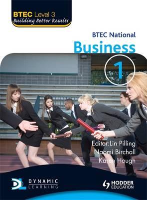 BTEC National Business: Level 3 - BTEC Book 1 (Paperback)