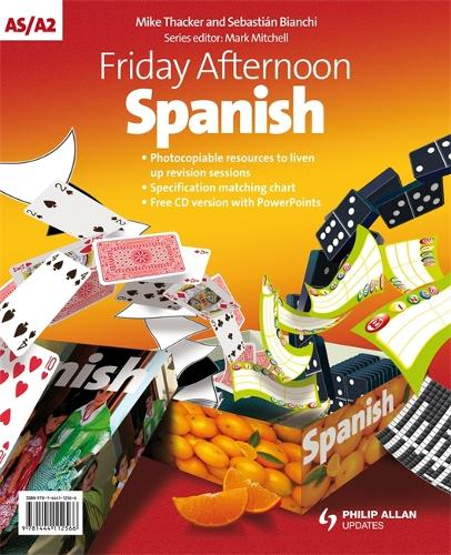 Friday Afternoon Spanish A-Level Resource Pack + Audio CD (Spiral bound)