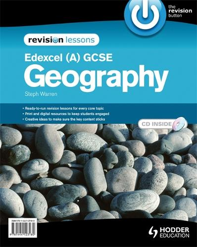Edexcel A GCSE Geography Revision Lessons + CD (Spiral bound)