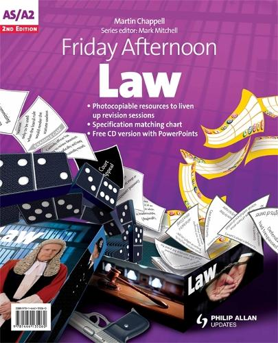 Friday Afternoon Law A-Level Resource Pack 2nd Edition + CD (Spiral bound)