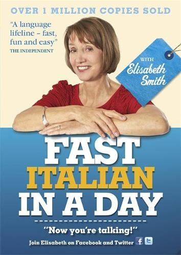Fast Italian in a Day with Elisabeth Smith (CD-Audio)