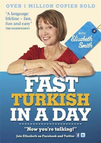 Fast Turkish in a Day with Elisabeth Smith (CD-Audio)
