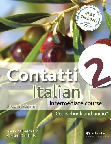 Contatti 2 Italian Intermediate Course 2nd Edition revised: Coursebook and CDs