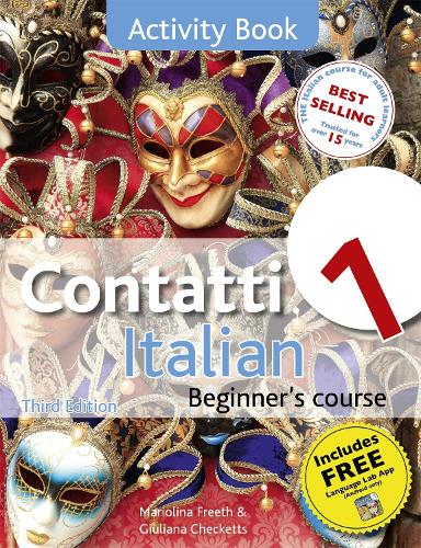 Contatti 1 Italian Beginner's Course 3rd Edition: Activity Book (Paperback)